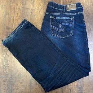 Silver Jeans Suki MidSlim BootCut Plus Size 24